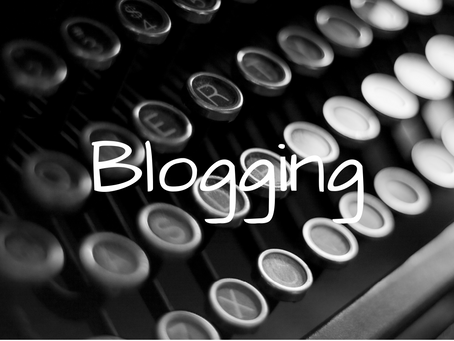 My two cents on . . . blogs