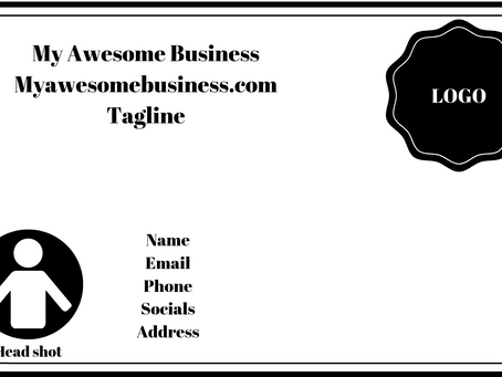 My two cents on . . . business cards