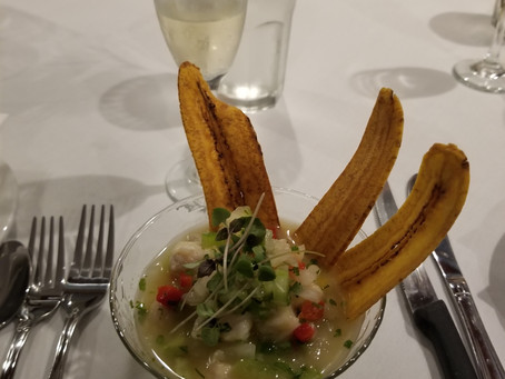 Did we mention how good the food was at Vincent's Esperienza Gastronomica?