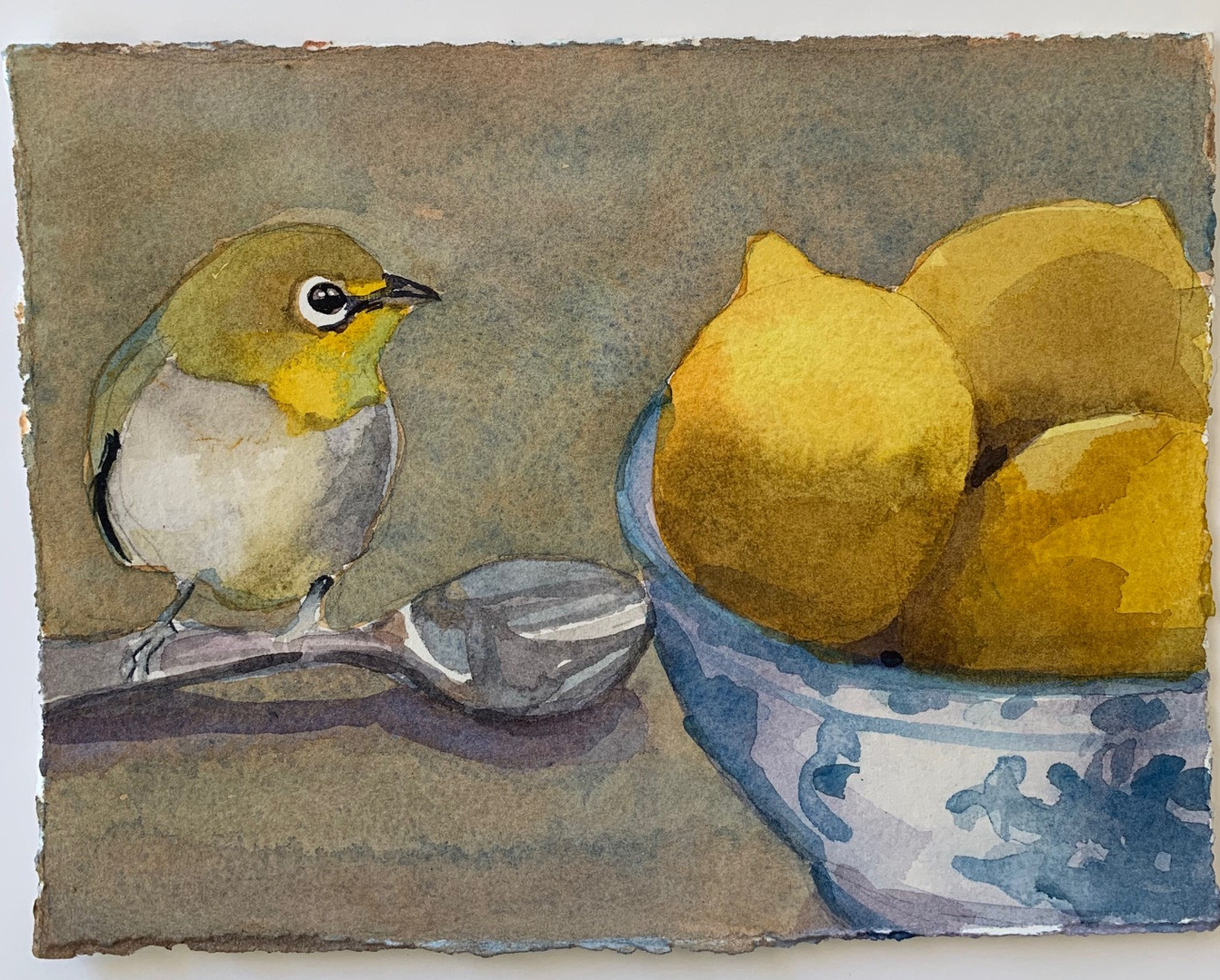 Available - Watercolor Painting - Yellow Admiration