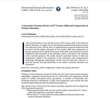 intl journal of instruction screenshot