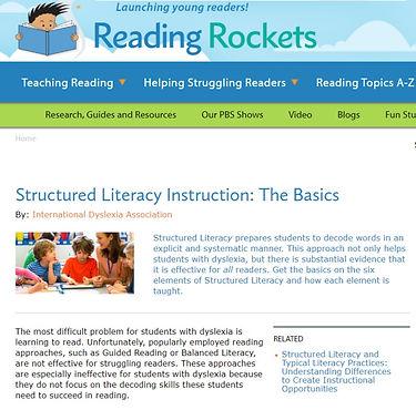 Structured Literacy