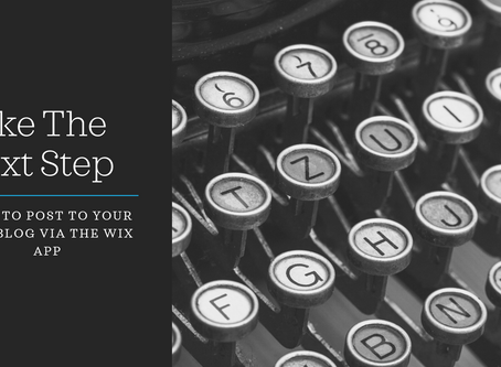 How-to #2 - Posting to your Wix blog from the Wix app