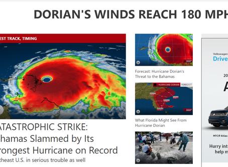 Dorian descends, part 2