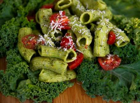 Recipe - Pesto with fresh pasta