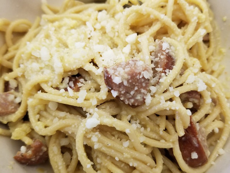 Recipe - Esther's spaghetti carbonara