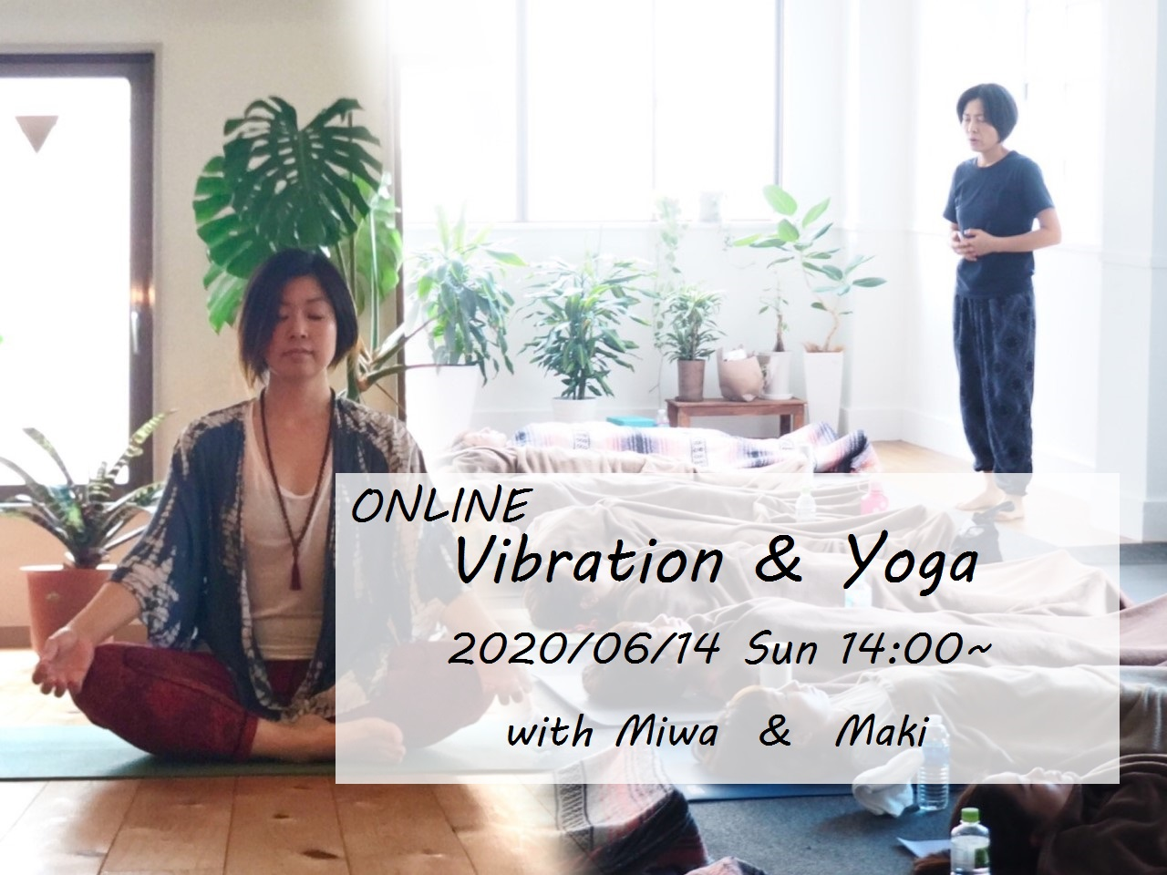 ONLINE Vibration&Yoga