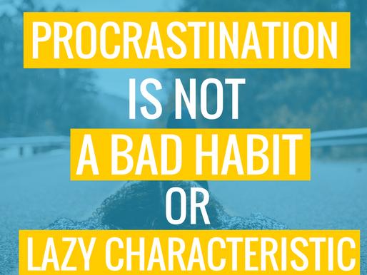 Tribeless Topics: Procrastination Sucks