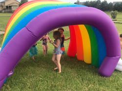 Rainbow tunnel!