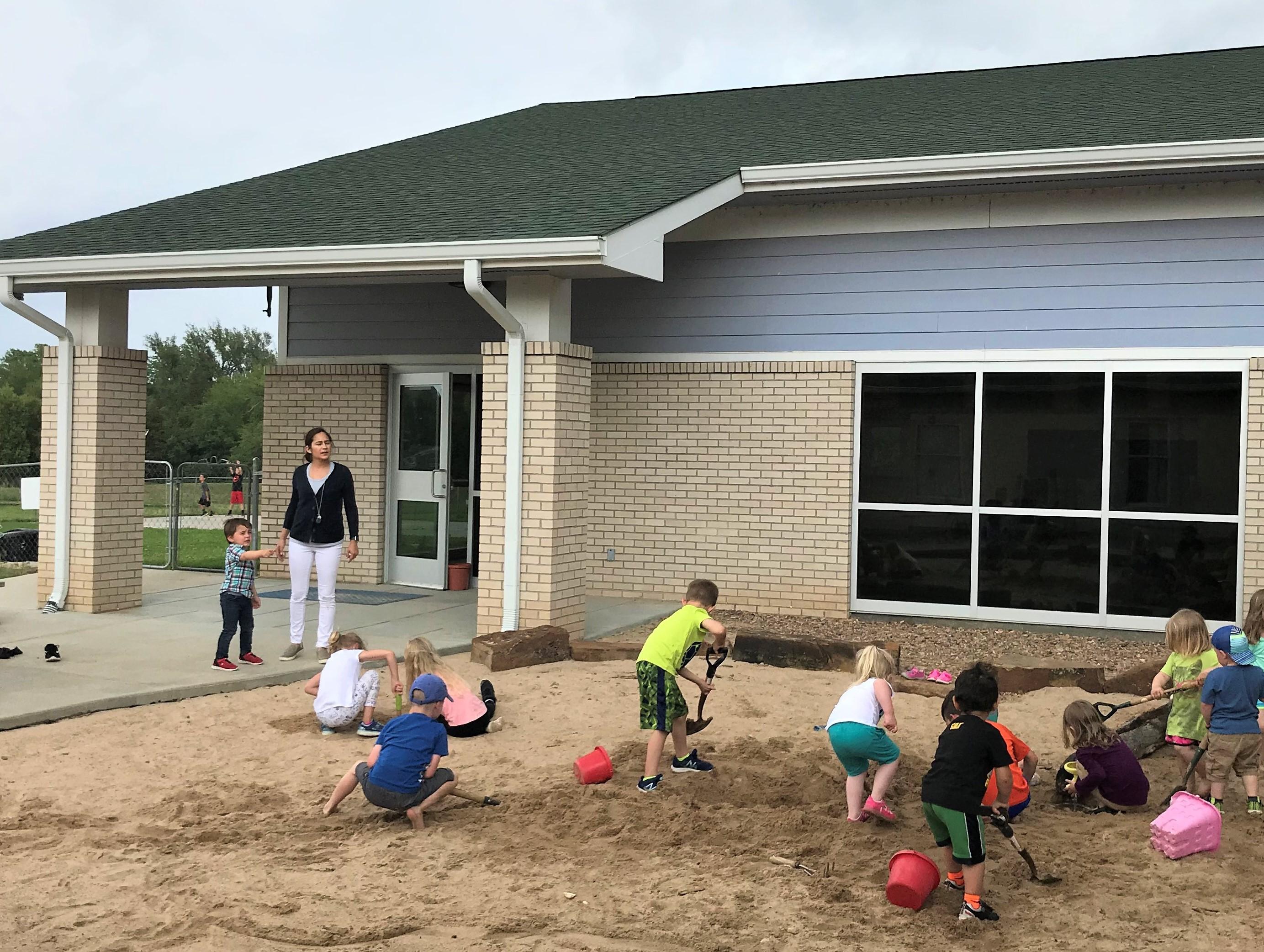Discovery Playground sand fun