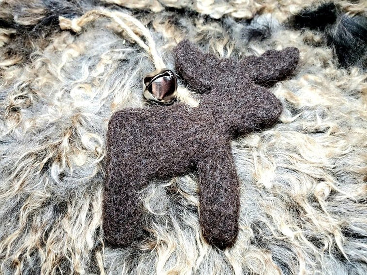 Vermont Moose Needle Felting Ornament Kit