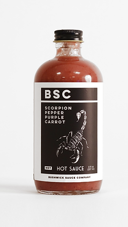 Scorpion Pepper Hot Sauce 8oz