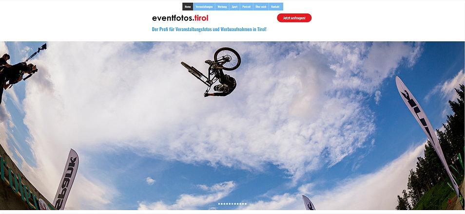 Eventfotos Tirol, die Fotoseite der Werbeagentur INN.PULS