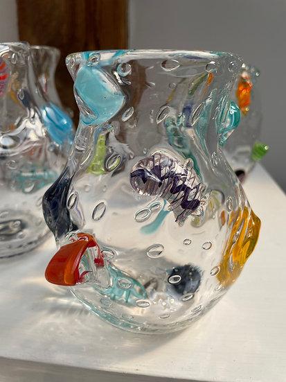 """Caroline"" Mosaic Vase"
