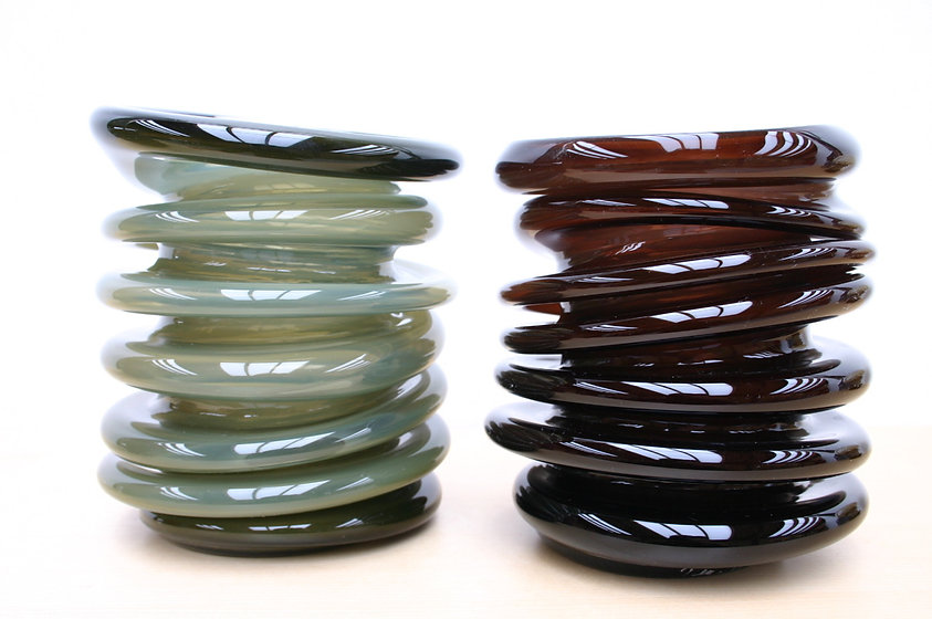 handblown glass art from Maine