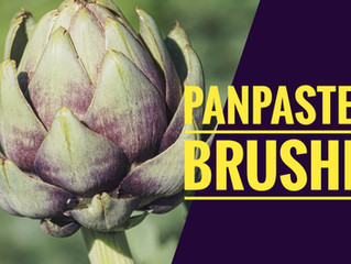 Painting an Artichoke with PanPastels