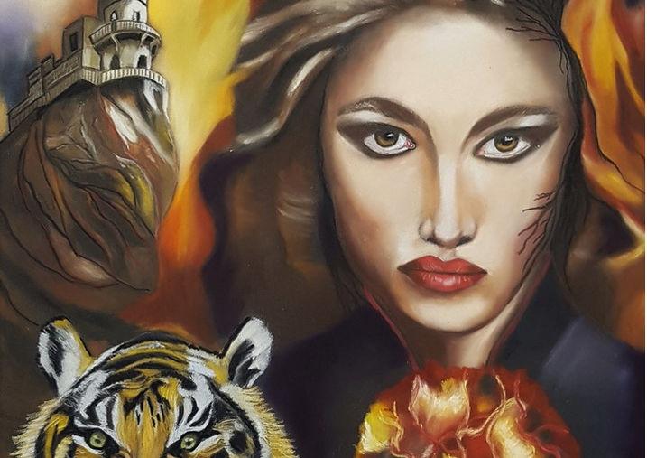Zafira  Fire Queen of Spades
