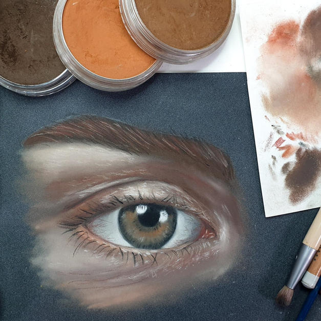 5 Senses - Eye study