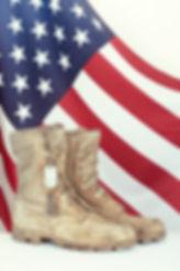 American Flag Combat Boots