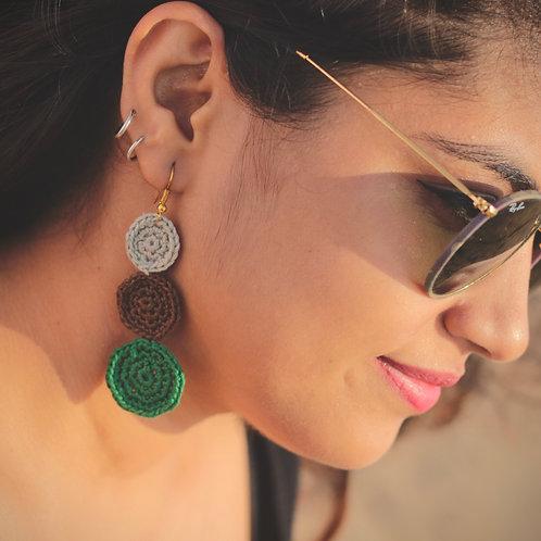 Tree Top earrings