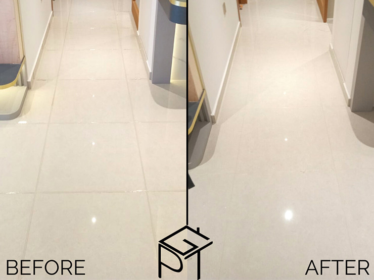 grouting service before and after