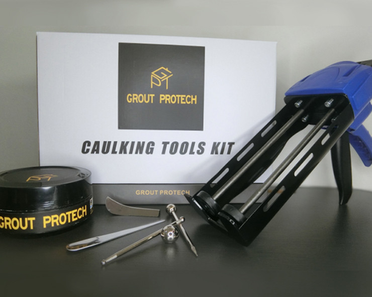 grout protection caulking tools kit