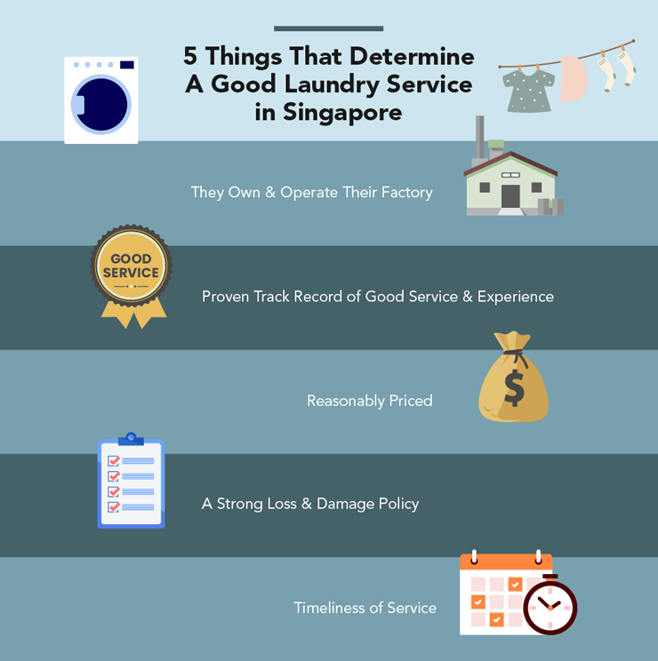 good laundry services in Singapore
