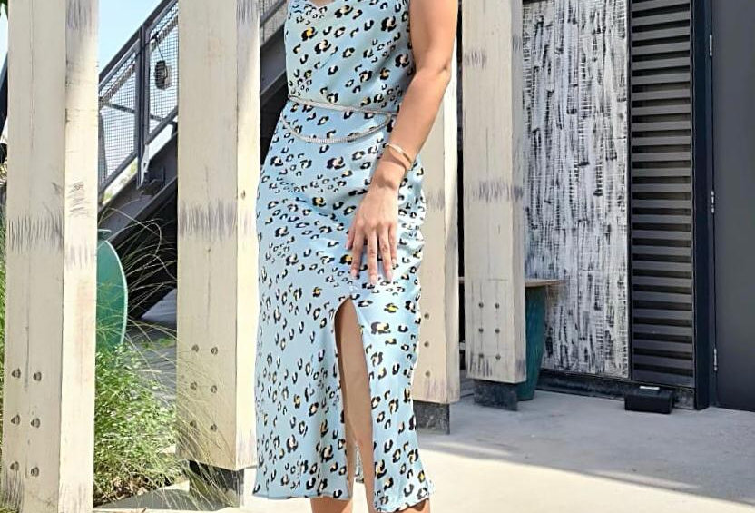 Sophia slip dress
