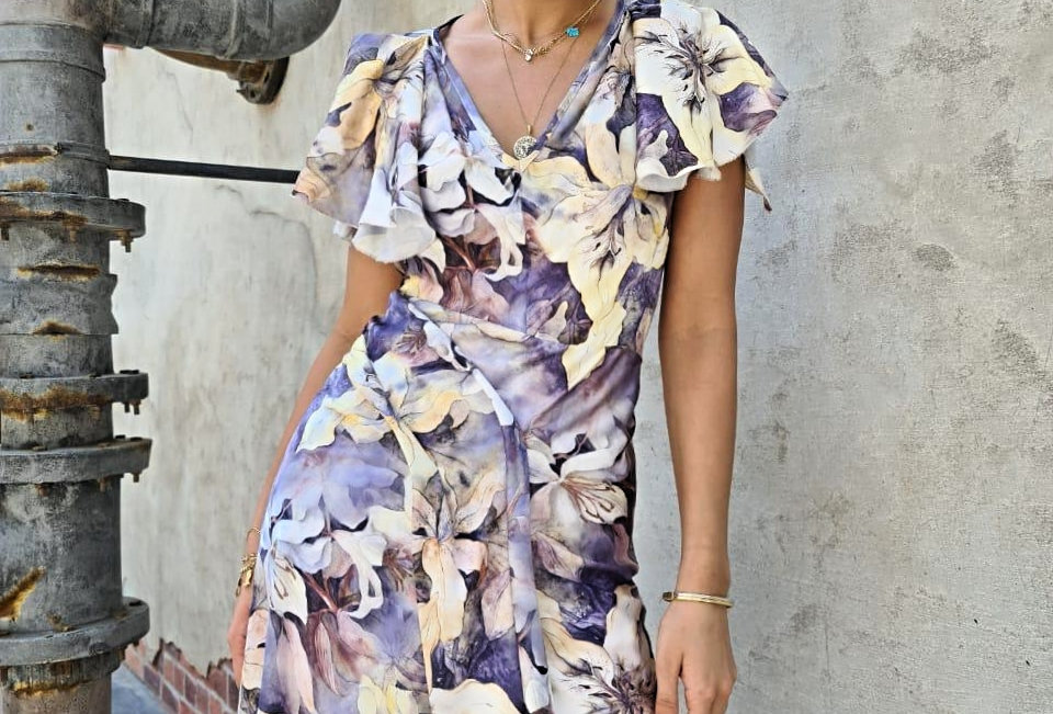 Botanical beauty dress