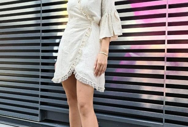 Savannah wrap dress