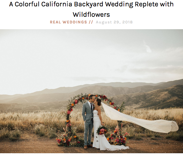 Feature on Green Wedding Shoes