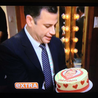 Jimmy Kimmel on Extra TV