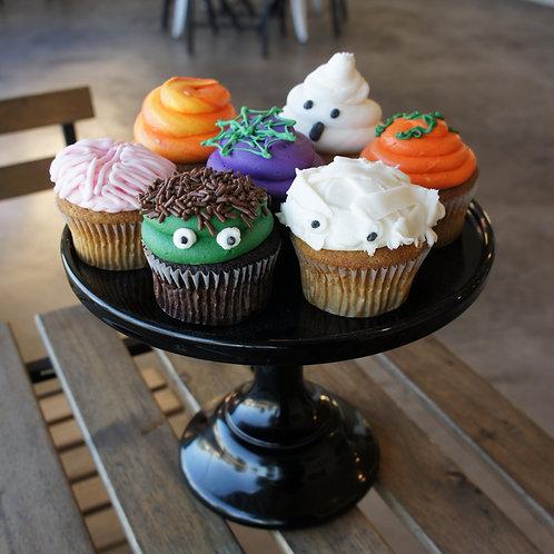 Halloween Character Cupcakes (1 Dozen)