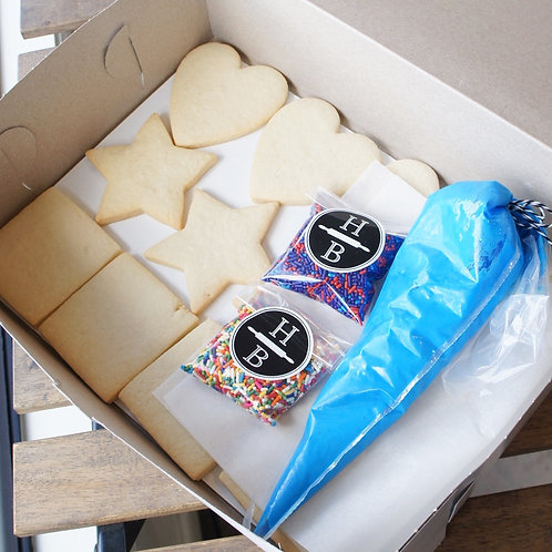Cookie Decorating Kit - 1 Dozen Cookies