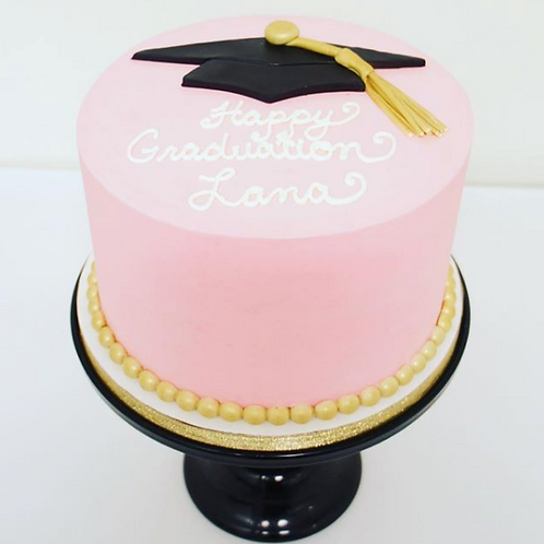 Sweet & Simple Graduation Cake