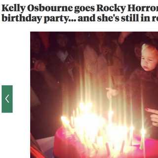 Kelly Osbourne's 30th birthday