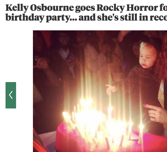 Kelly Osbourne's 30th birthday