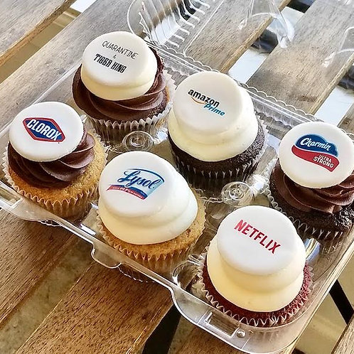 Quarantine Essentials Cupcakes (1/2 dozen)