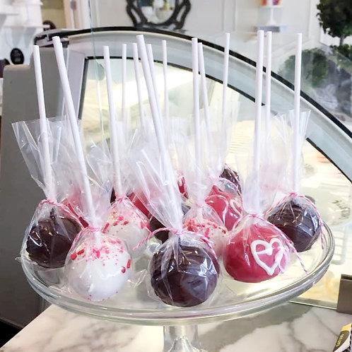 Valentine's Day Cake Pops (1 Dozen)