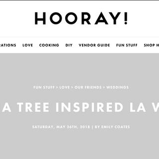 Feature on HOORAY! Magazine Online
