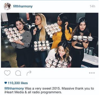 Cupcakes for Fifth Harmony