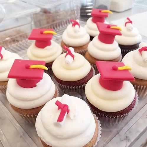 Grad Cupcakes (1/2 or Full Dozen)