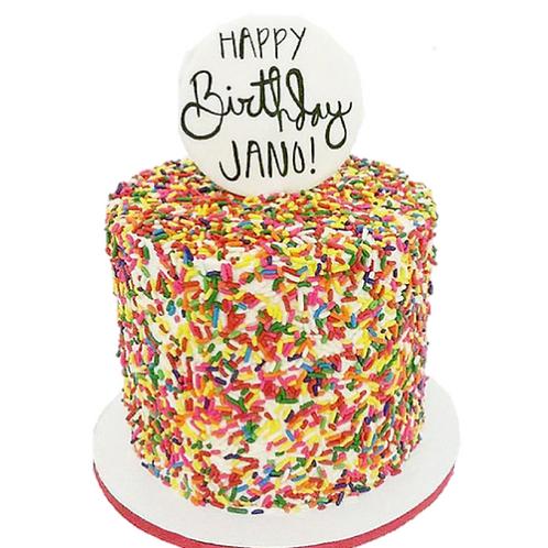 Sprinkle Funfetti Cake