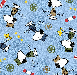 Armed Forces Snoopy (Over the Collar)