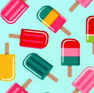 Summer Popsicles (Over the Collar)