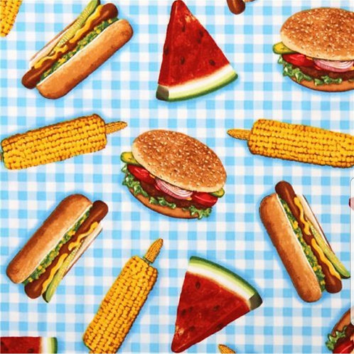 Summer Foods (Over the Collar)