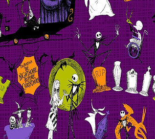 Nightmare Before Christmas (Over the Collar)