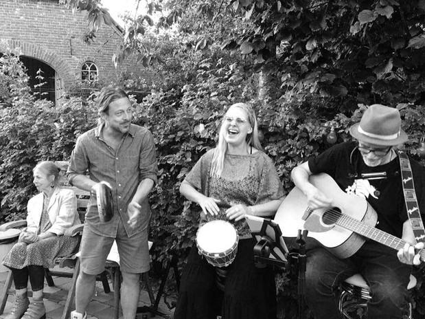 Private garden concert, Geesteren (Achterhoek)