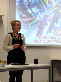Design and Art Workshop with Refugees.