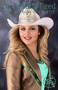 Olivia Reed Miss Teen Rodeo Illinois
